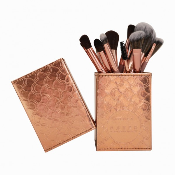 KIT DE BROCHAS NAKED X 14 PCS